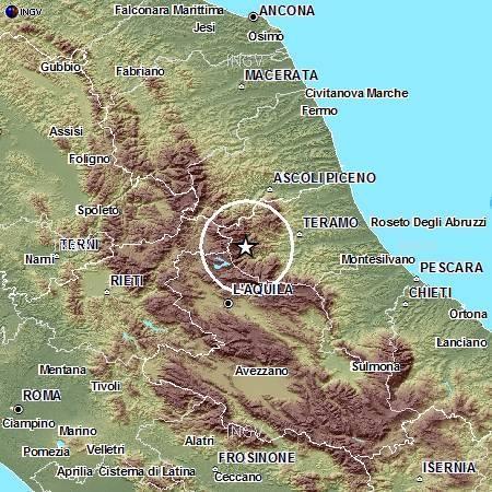 Terremoto Abruzzo oggi 26 Dicembre 2012