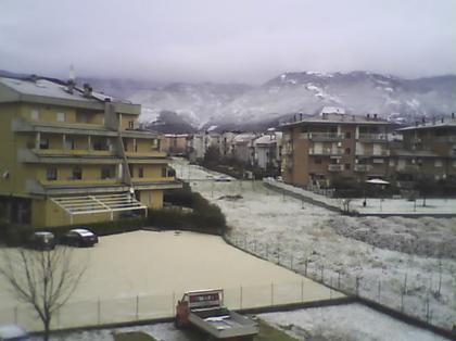 Maltempo Lazio 16 Gennaio 2013: neve fino a quote basse tra Roma, Rieti e Viterbo