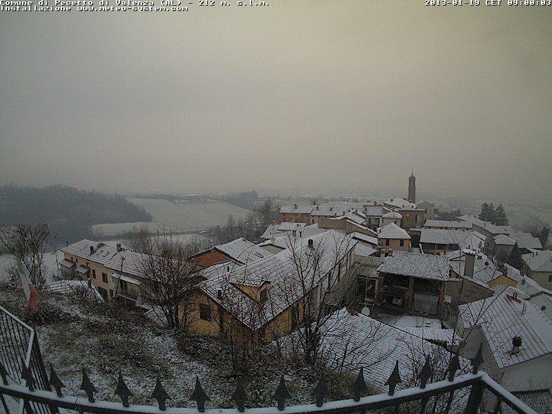 Neve Nord Italia 19 Gennaio 2013