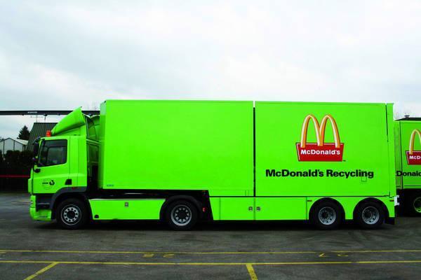 McDonald carburante dall' olio fritto