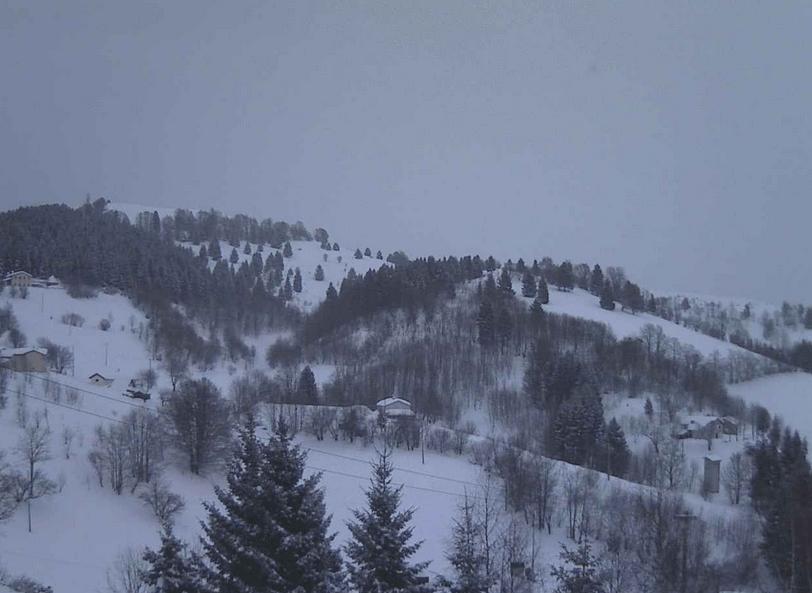 Maltempo Veneto: piogge e neve a bassa quota