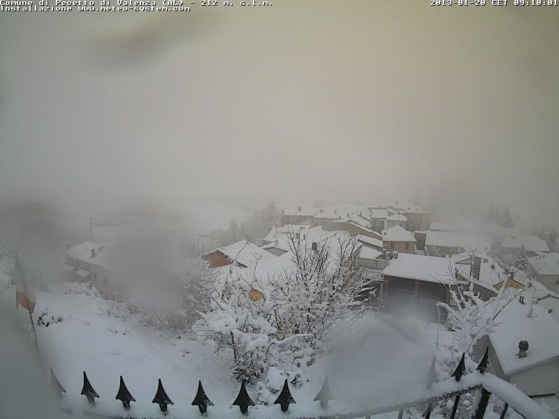 Maltempo Piemonte 20 Gennaio