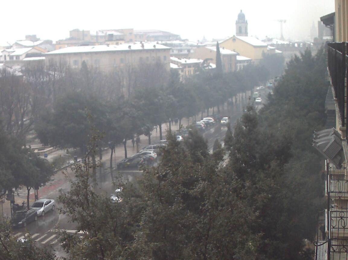 Maltempo Veneto: piogge e nevicate a bassa quota