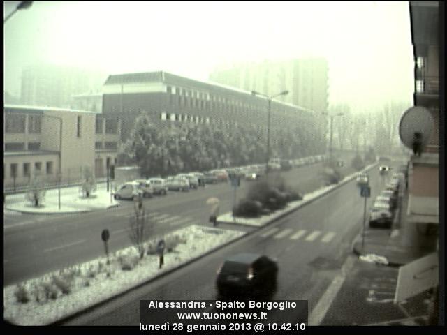Alessandria questa mattina