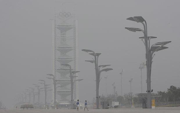 Cina: allarme smog a Pechino