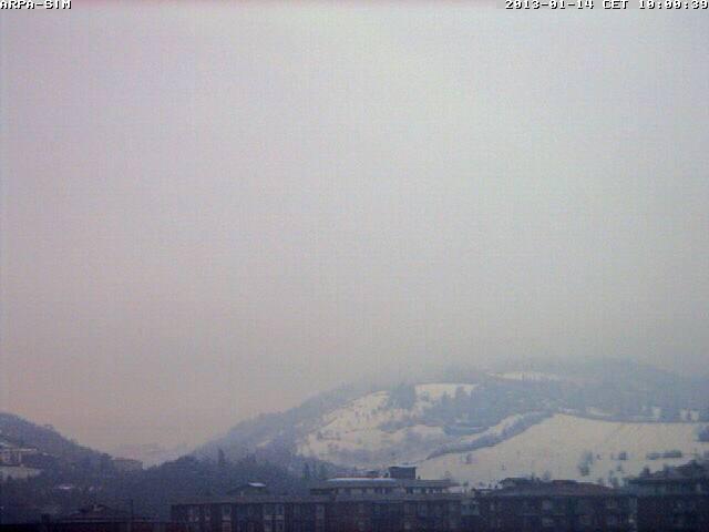 Situazione neve Nord Italia