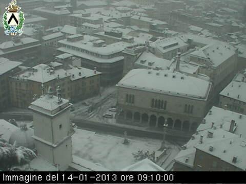 Neve Friuli 14 Gennaio 2013
