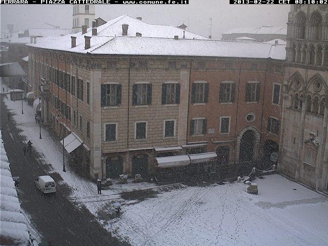 Meteo emilia romagna nevica da parma a ferrara 10 cm a - Il meteo bagno di romagna ...