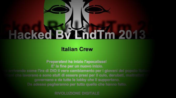 Attacco hacker al sito del tribunale di Milano