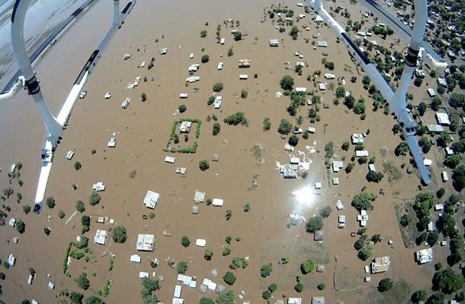 Inondazioni Mozambico