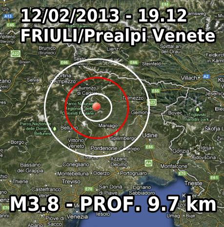 Terremoto Veneto-Friuli Oggi 12 Febbraio