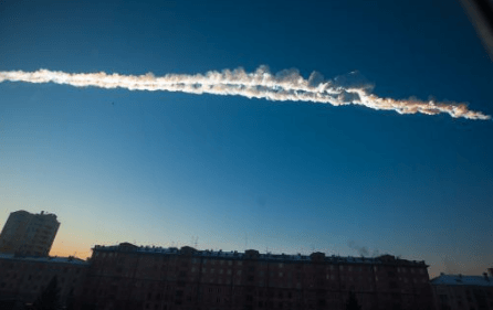 Video Meteorite Russia