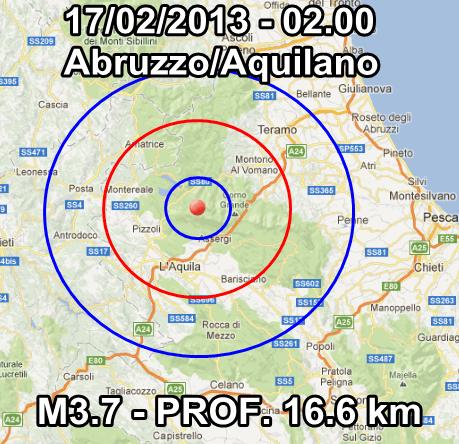 Terremoto Abruzzo Oggi