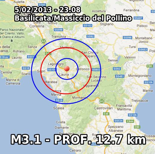 Terremoto oggi Basilicata