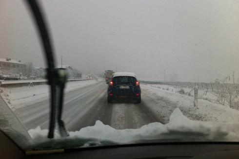 Lombardia: instabile con nevicate anche al piano nei prossimi giorni, in genere non abbondanti però.