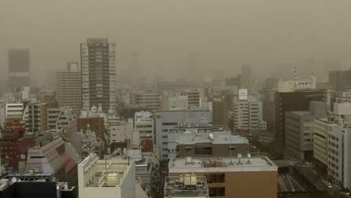 Tempesta di sabbia Tokyo - Capitale giapponese investita dalla sabbia. Ecco i video provenienti dal Giappone