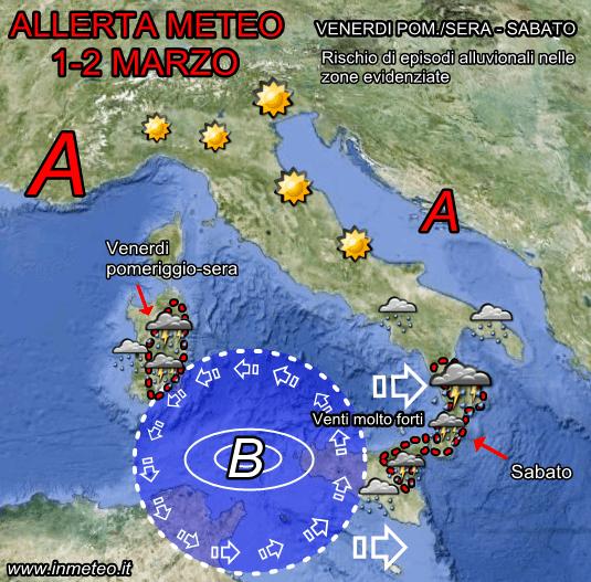 Previsioni Meteo Sud Italia