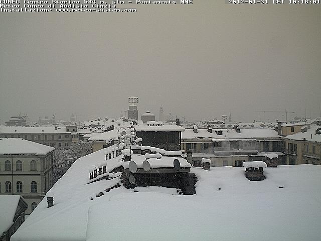 Piemonte: neve fino a quote medie e piogge anche forti dalle prossime ore