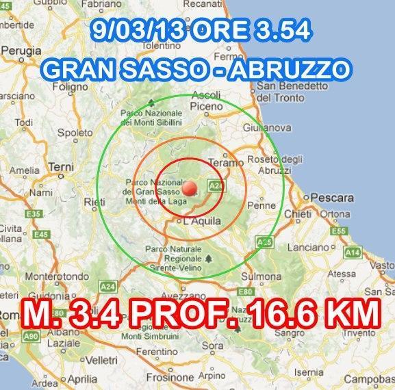 Terremoto Oggi INGV