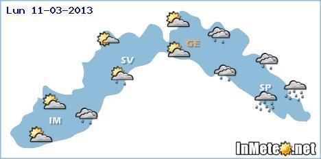 Liguria: settimana che inizierà con tempo incerto, le previsioni meteo
