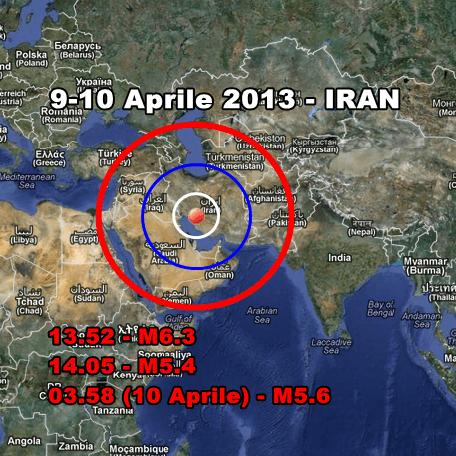 Terremoto Oggi Iran - Autentico disastro dopo il violento sisma di magnitudo 6.3. Vittime feriti e case distrutte. Oggi altra forte scossa.