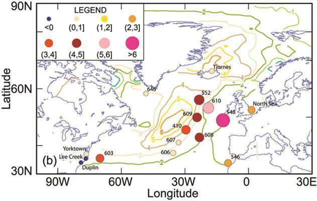 Simulazione della circolazione delle correnti oceaniche (Fonte: science daily)