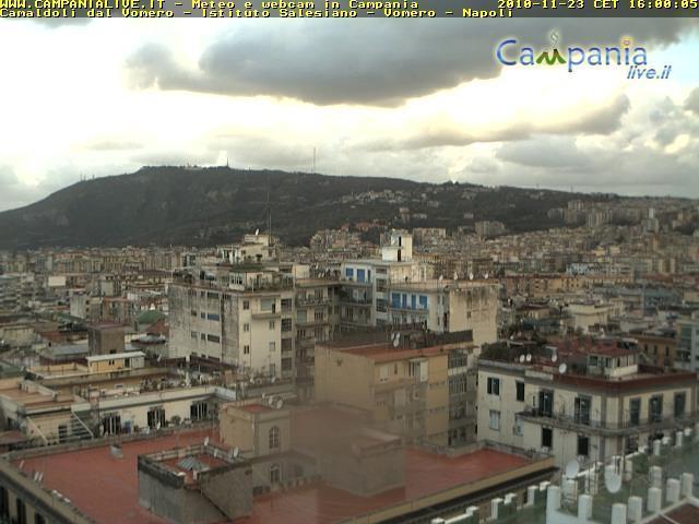 Campania: immagine live di Napoli (fonte Campanialive.it)
