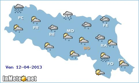 Emilia Romagna: Venerdì nuovo peggioramento, ma da Sabato scoppiano caldo e bel tempo