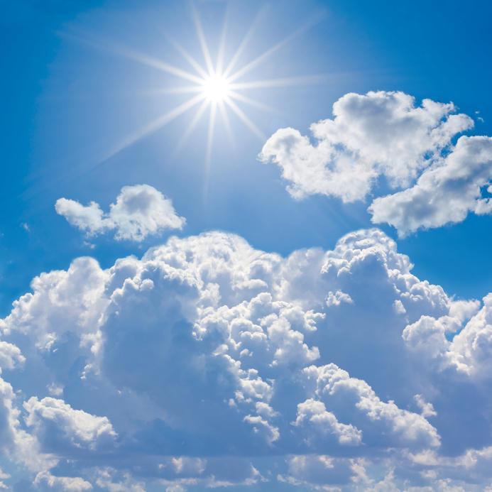 Le emissioni naturali e gli inquinanti di origine antropica possono redenre le nuvole più luminose e rendere il clima più freddo  (fonte immagine: science daily)