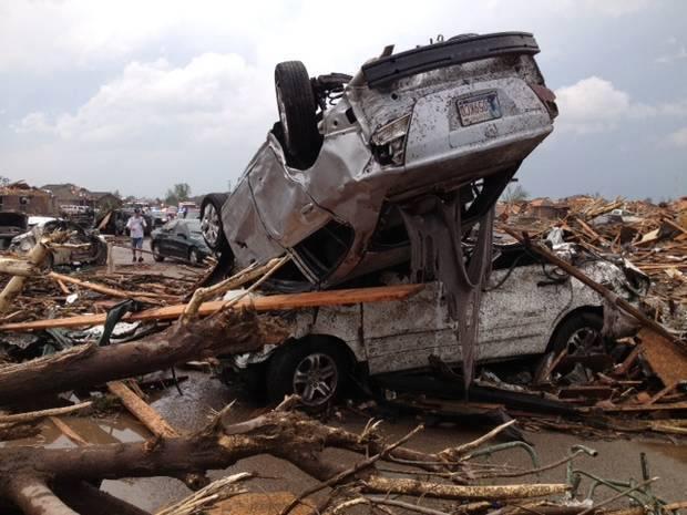 Tornado Oklahoma City 20 Maggio 2013