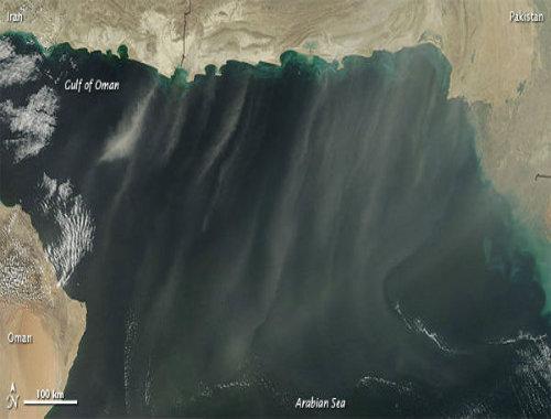 Sabbia vista dal satellite - Foto di repertorio