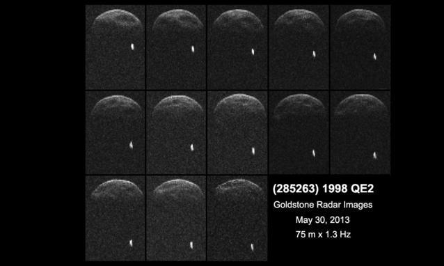 Asteroide 1998 QE2: ecco le immagini che evidenziano la presenza di un piccolissimo satellite (Luna Asteroidale)