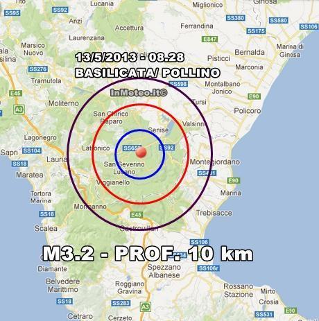 INGV Terremoto Oggi
