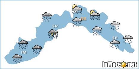Liguria 18 Maggio 2013: previsioni grafiche