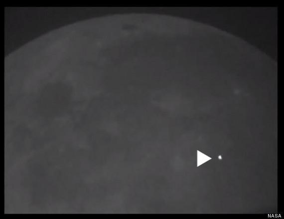 Meteorite impatta sulla Luna