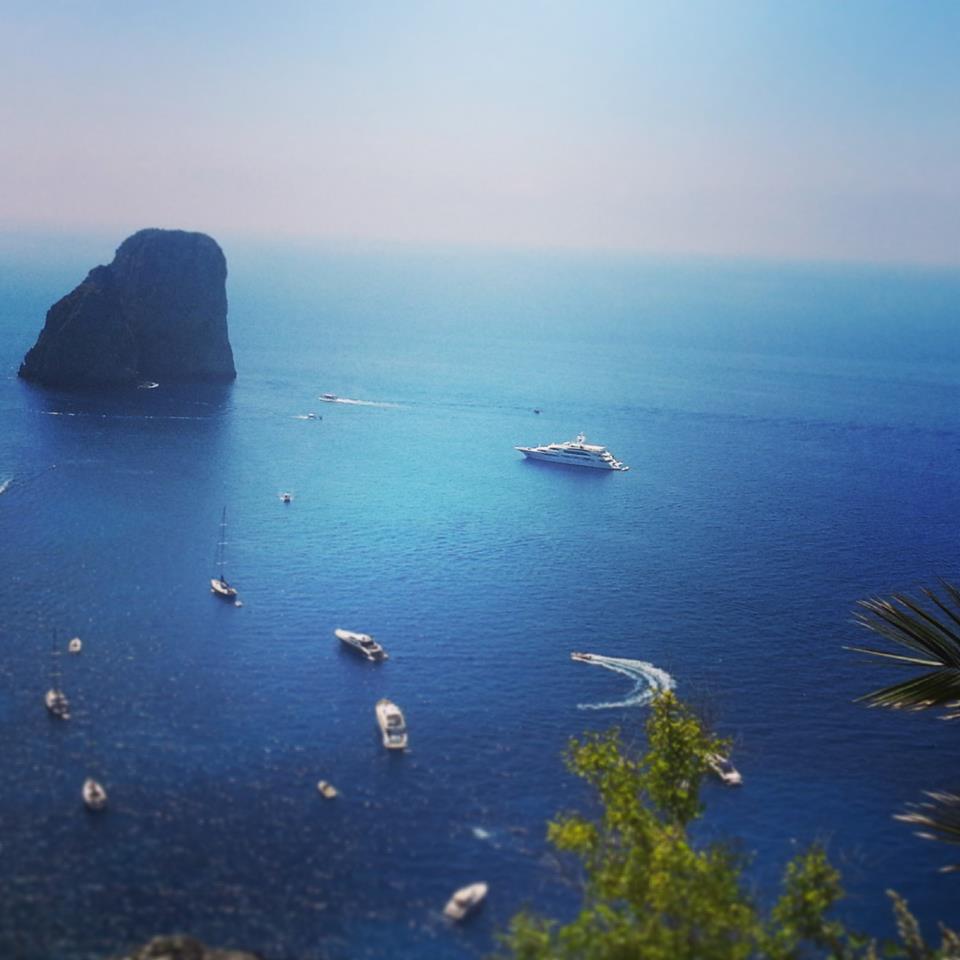 Campania : Ancora caldo e bel tempo - Foto di Ilaria Minnielli, Capri