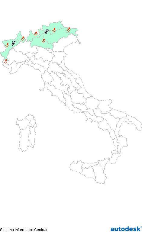 Previsioni meteo 15 Giugno 2013 Italia: Bollettino della Protezione Civile. Fonte: www.protezionecivile.gov.it