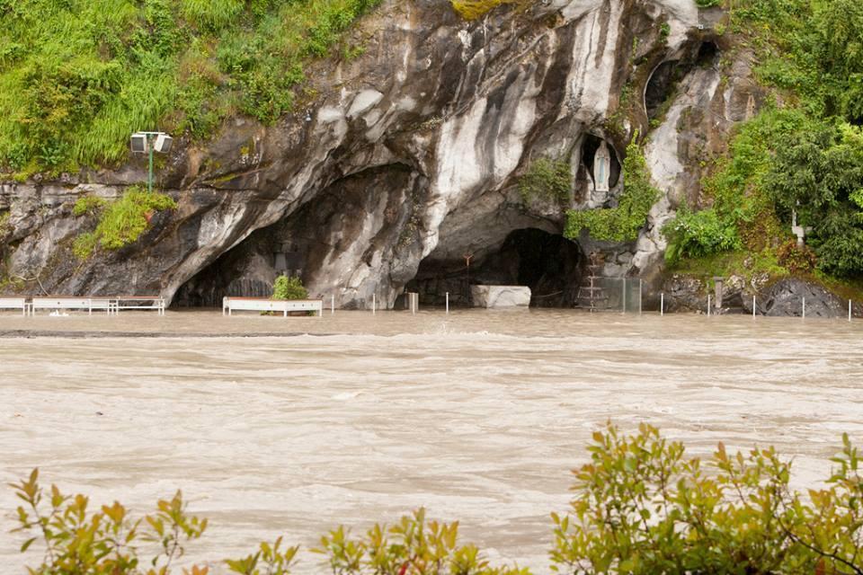 Alluvione Lourdes