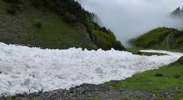Fiume di Neve in Austria