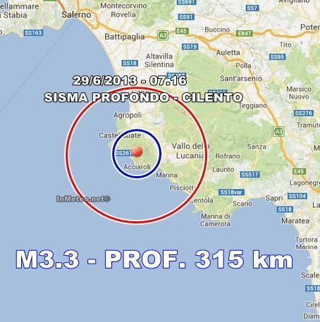 INGV Terremoto Oggi : Monitoraggio in tempo reale