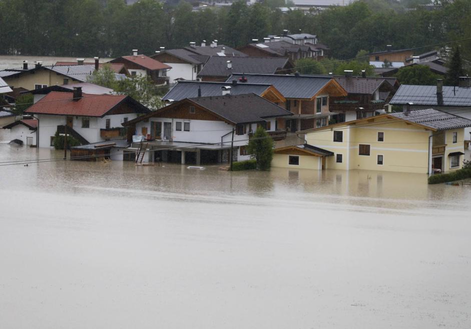 Villaggio di Koessen, in Austria