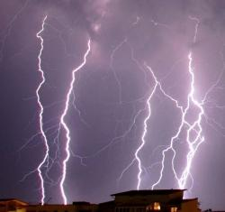 ALLERTA meteo della Protezione Civile per forti temporali in arrivo