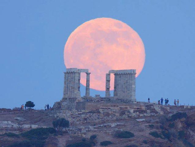 SuperLuna Luglio 2013 : Torna l'affascinante Luna Piena al Perigeo