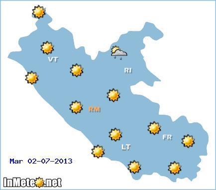 METEO ROMA: è l'ora del caldo, ecco le previsioni del tempo per i prossimi giorni