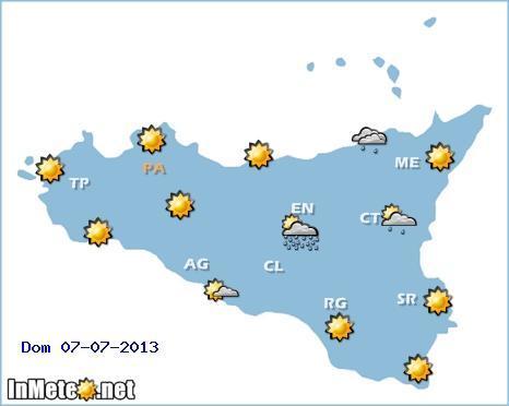 METEO SICILIA: previsioni del tempo week end e fino a 7 giorni