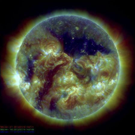 Buco coronale , Fonte NASA