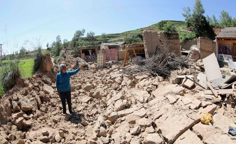 Terremoto Cina 22 Luglio 2013