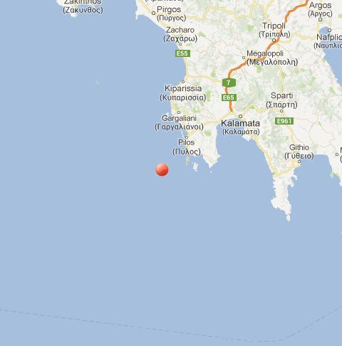 Intensa scossa di terremoto in Grecia