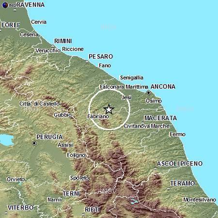 Terremoto nelle Marche, avvertito bene ad Ancona - 17 Luglio 2013