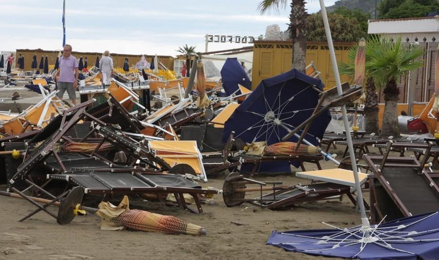 Maltempo Liguria, Sanremo: molti i danni - 29 Luglio 2013